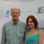 Ed Begley, Jr. & Elizabeth J. Carlisle | Image Credit: Neil Hong